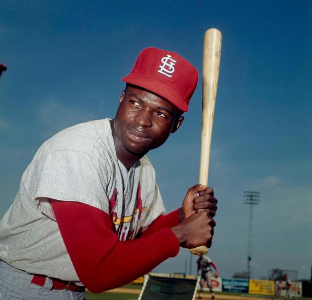 Lou Brock, of the St. ...