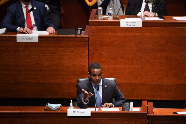 Rep. Joe Neguse (D-CO) questions Attorney ...