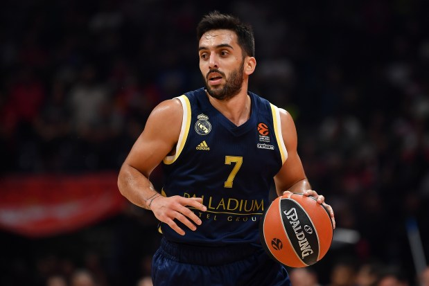 Facundo Campazzo of Real Madrid in ...