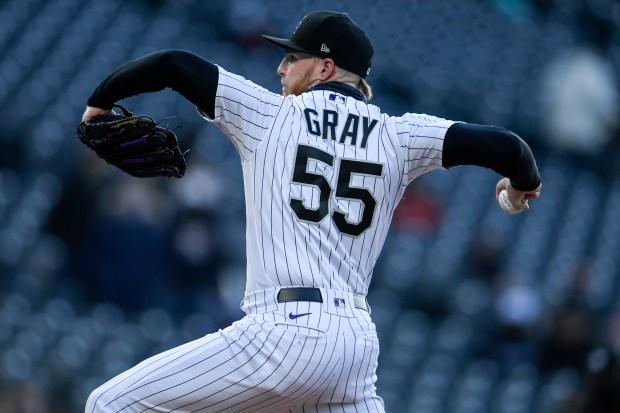 Jon Gray (55) of the Colorado ...