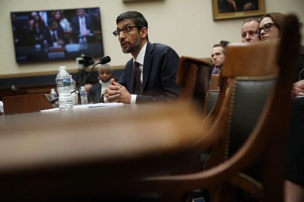 Google CEO Sundar Pichai testifies before ...