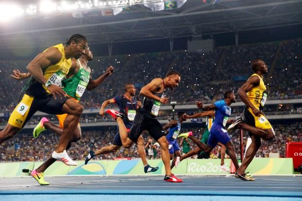 FILE -- Usain Bolt of Jamaica, ...
