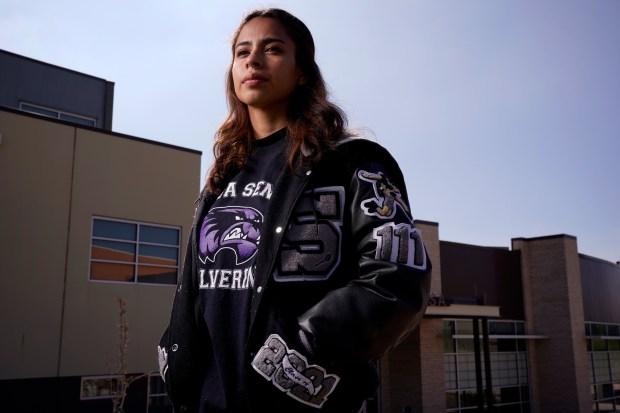 Paula Cerros Liceaga, 17, senior student ...