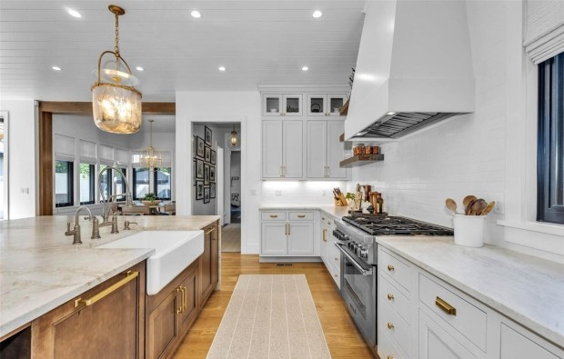 The kitchen at 2519 S. Columbine St.