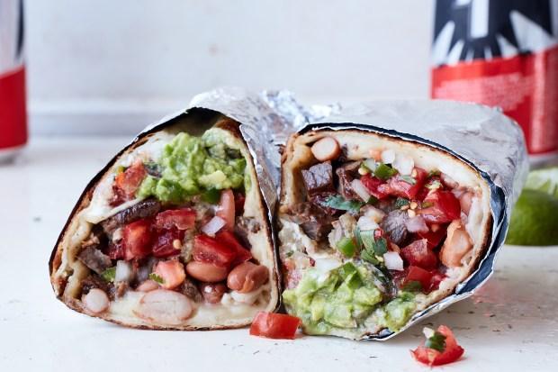 FILE -- A Mission burrito in ...