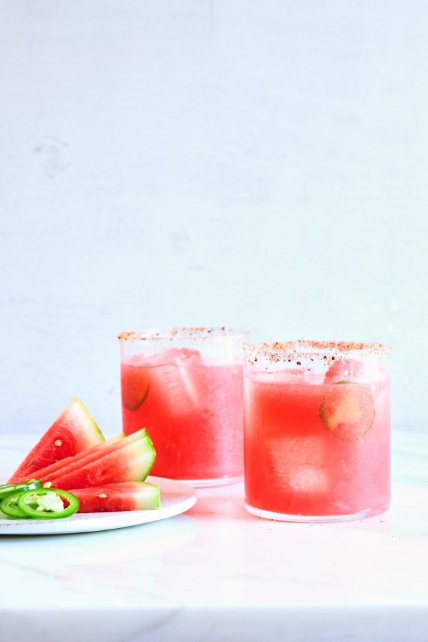 FILE -- Watermelon margarita in New ...