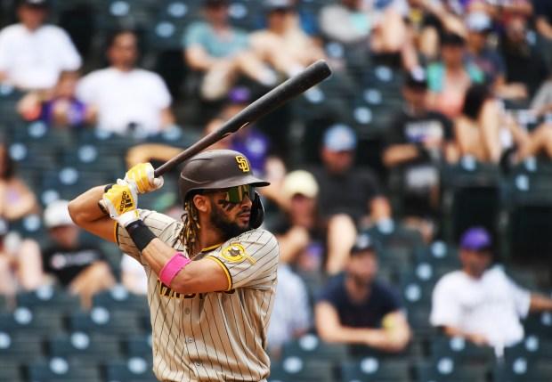 San Diego Padres shortstop Fernando Tatis ...