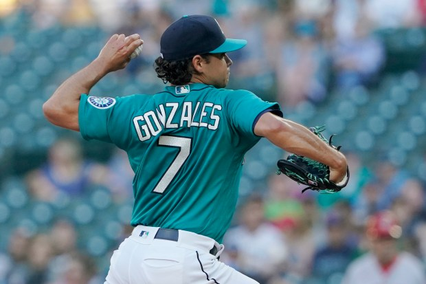 Seattle Mariners starting pitcher Marco Gonzales ...