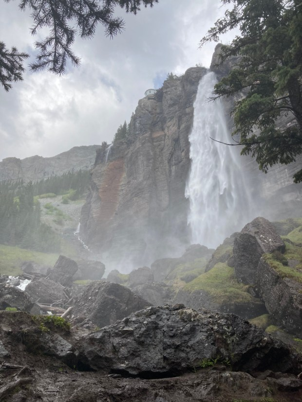 Bridal Veil Falls (pictured) is deemed ...