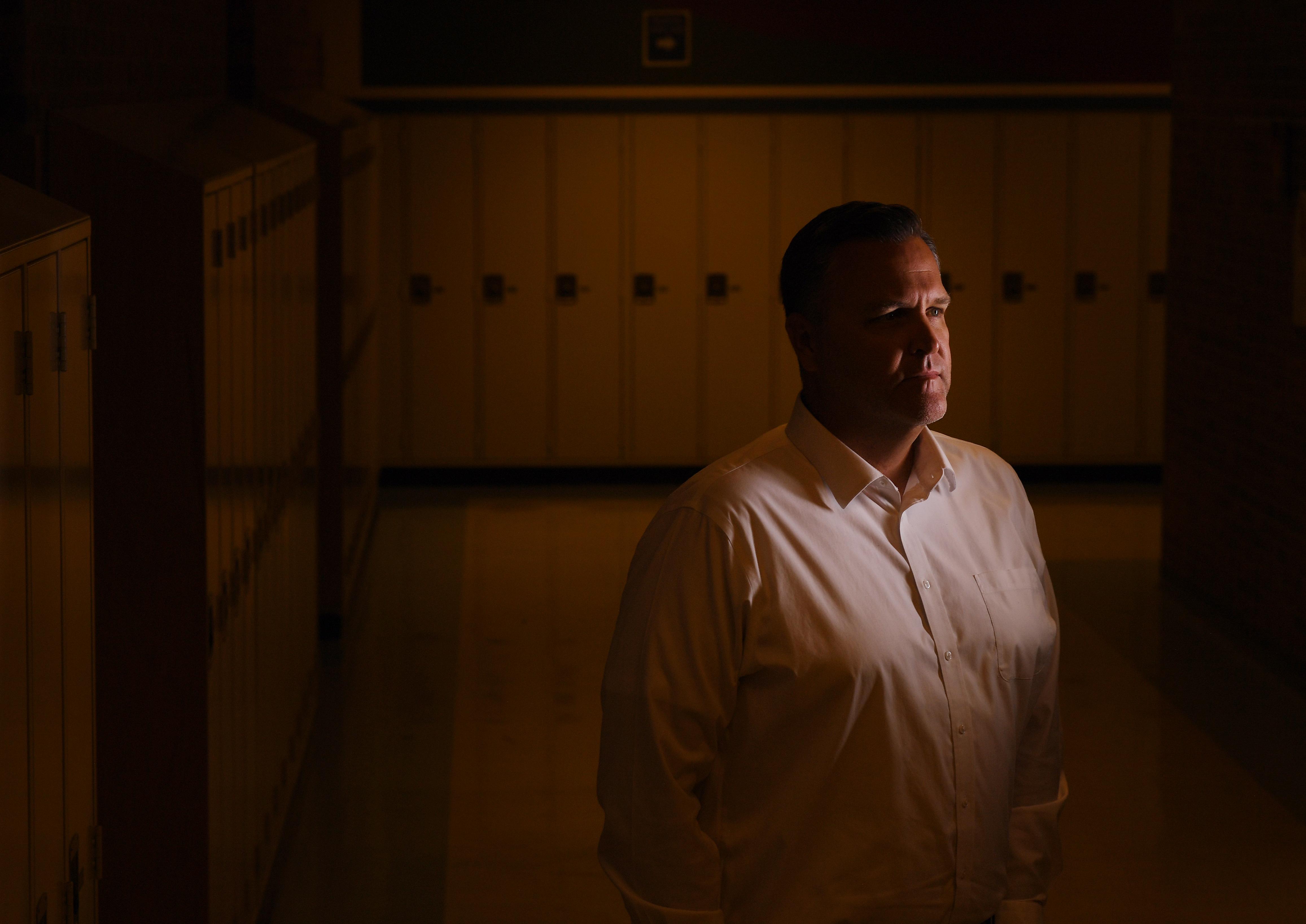 Craig Woodall, 48, is the principal ...