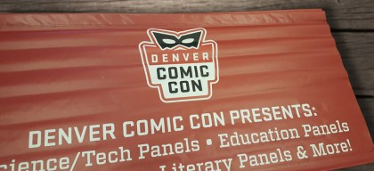 denver comic con presents banner
