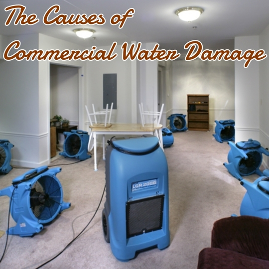 The Causes of Commercial Water Damage