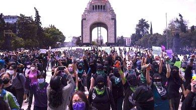 Photo of Disturbios en marcha a favor del aborto en CDMX