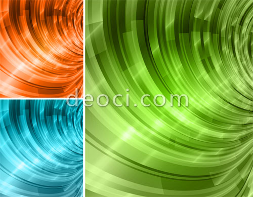 Free 3 Abstract Colorful Spiral Vector Cover Background Design Template Illustrator AI Photoshop