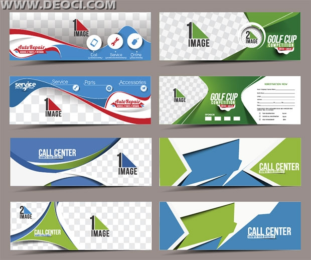 8 Call Center Banners Advertising Design Template Eps Downloads Deoci Com