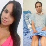 BAHIA: Suspeito de atirar em transexual é solto; vítima perdeu movimentos depois de ataque