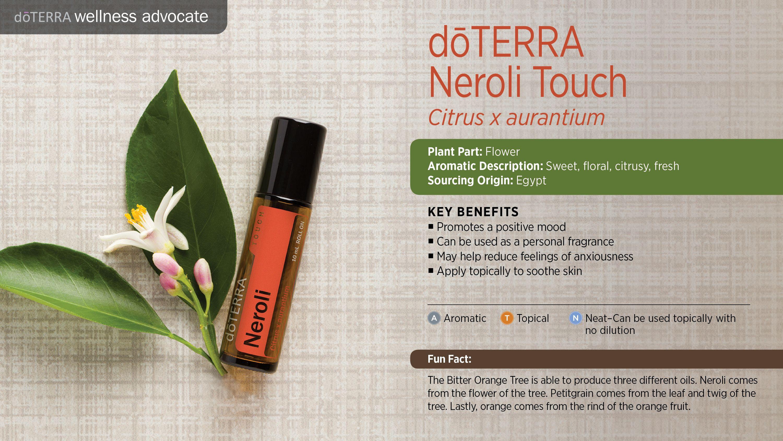Neroli Touch 10mL | DoTERRA Essential Oils North Brisbane