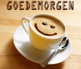 Vrijdagochtend koffie drinken