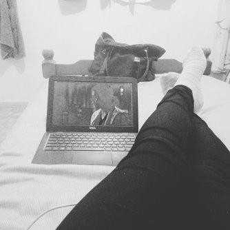 Solo tenía una cajonera pequeña con mi ropa y mi compu, mi roomie me prestaba una cama y y fue el modo en que sobreviví los primeros meses. -Wendy Mendiola