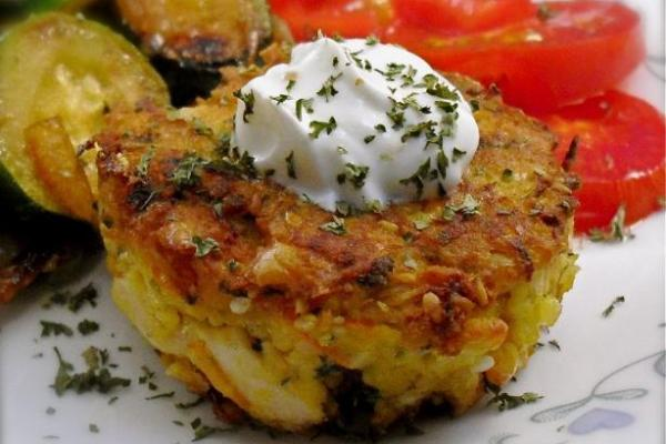 Tortitas de salmón