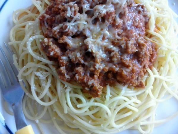 Prepara espagueti