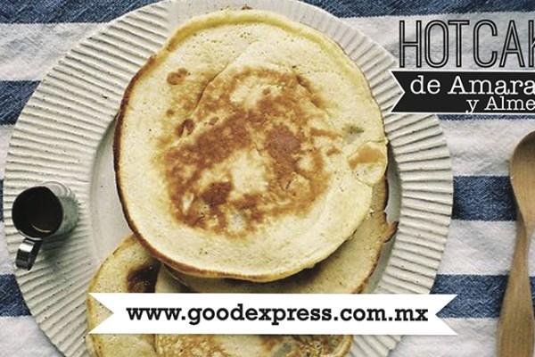 Hotcakes de Amaranto y Almendra