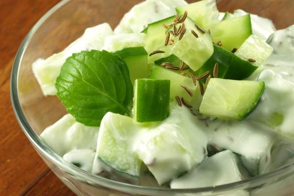 RECETA: Ensalada de pepino con yoghurt. ¡Deliciosa!