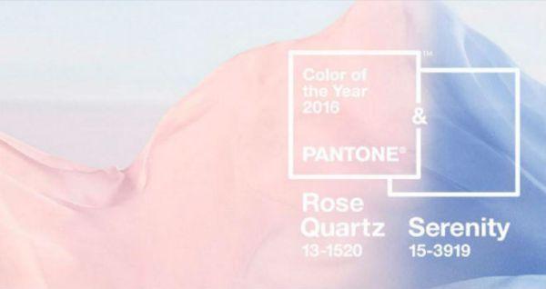 Pantone 2016: ¡Por primera vez hay dos colores… y son pasteles!