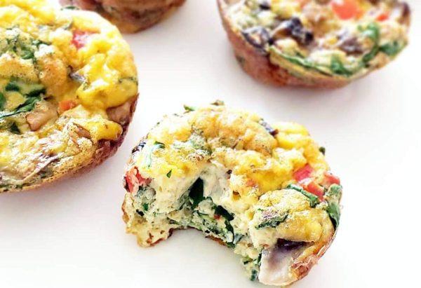 RECETA: Muffins de huevo.