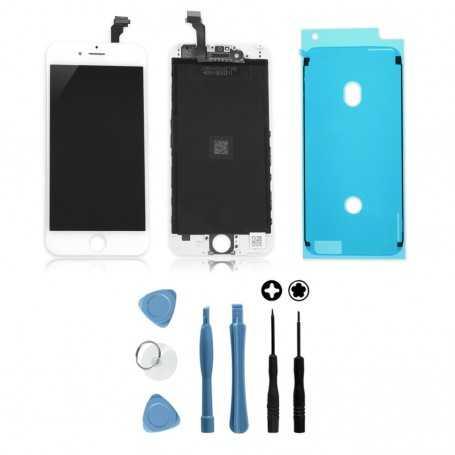 kit ecran original pour iphone 6s blanc vitre ecran lcd outils