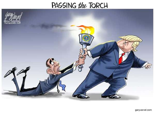 passing the torch