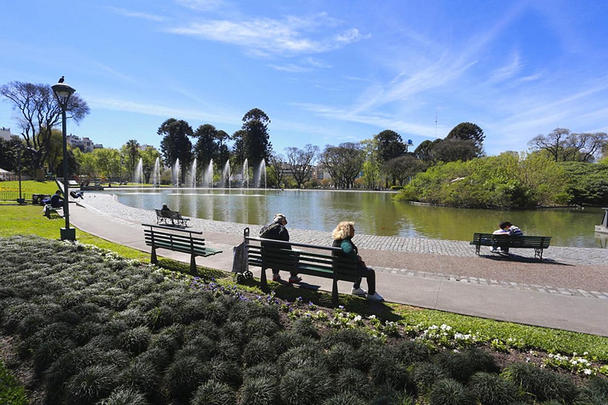 Parque Centenário em Buenos Aires -