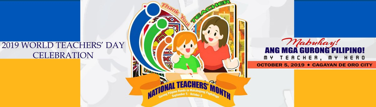 National Teachers Month Deped Division Of Tangub City