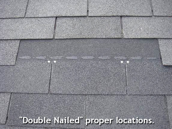 Nailing Roof Shingles Correctly.
