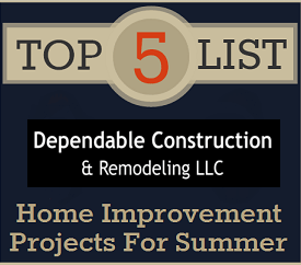 5 Great projects to get your home ready for summer