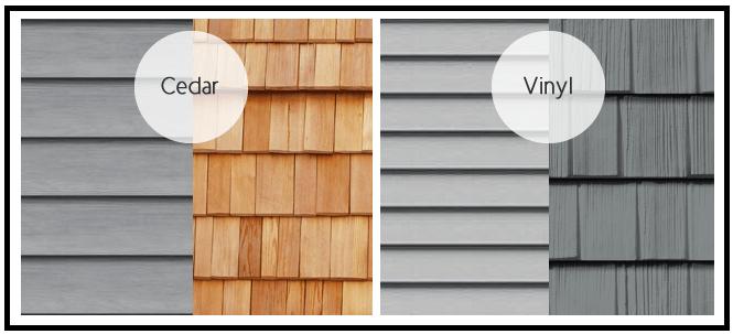 Maintenance of wood siding vs vinyl siding