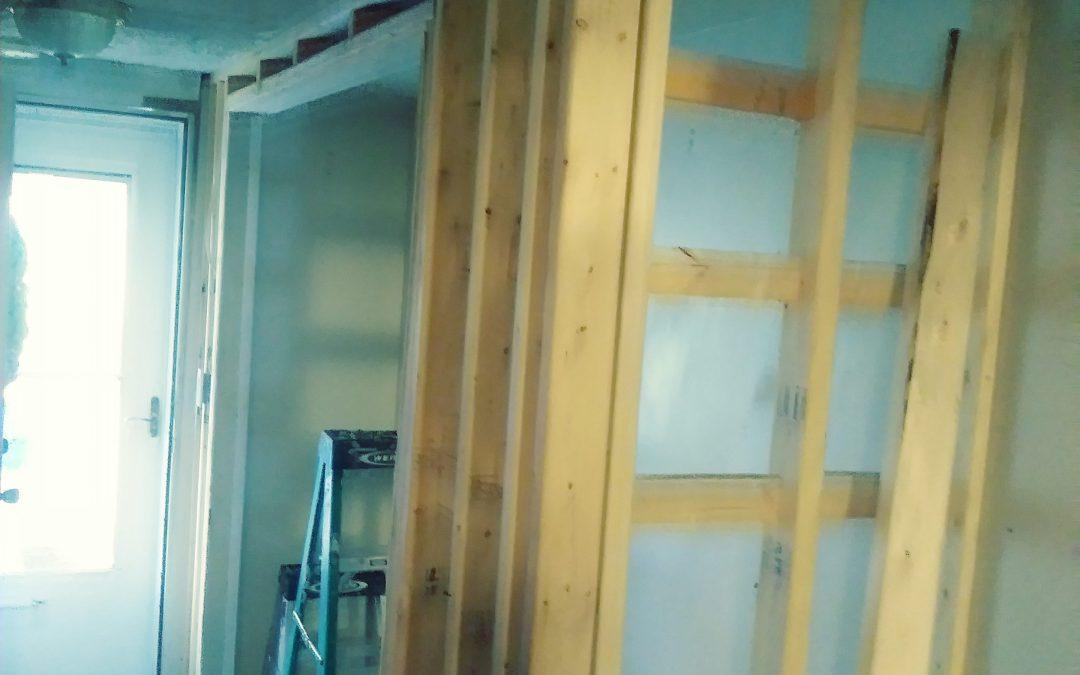 Closet framing