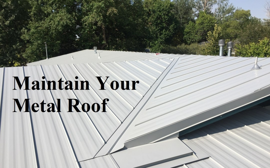 Maintain Your Metal Roof.
