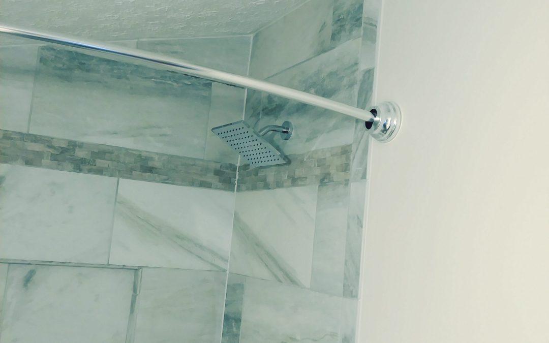 Shower Head & Tile