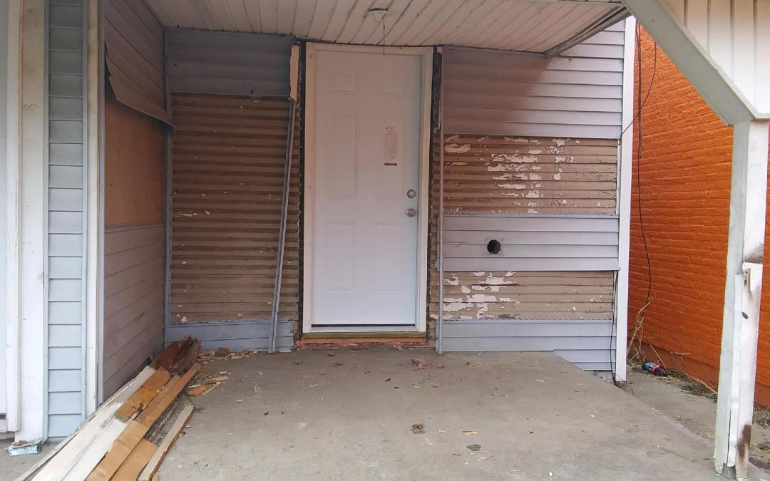 Door replaced