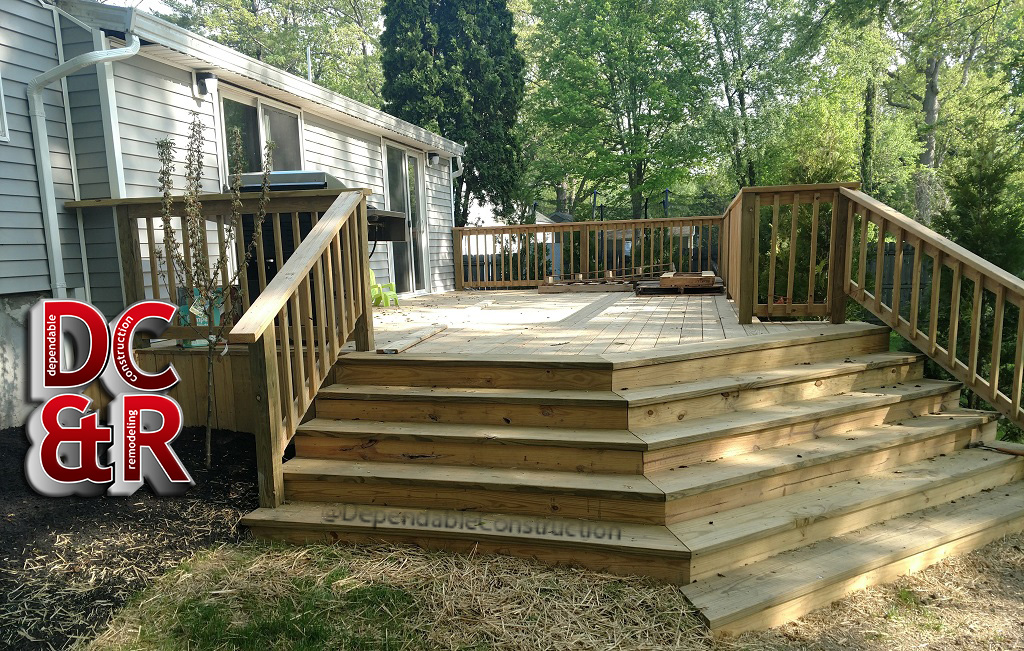 Deck Completed