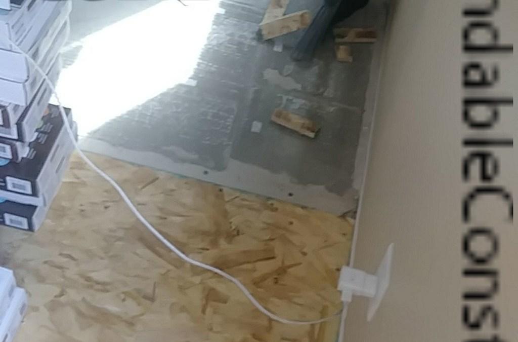 Sub-floor install