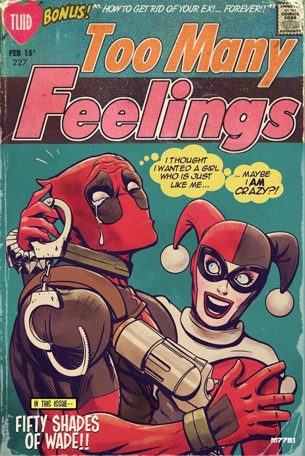 deadpool, marvel, marvel comics, comics, valentine, valentine day, happy valentine, depepi.com, depepi