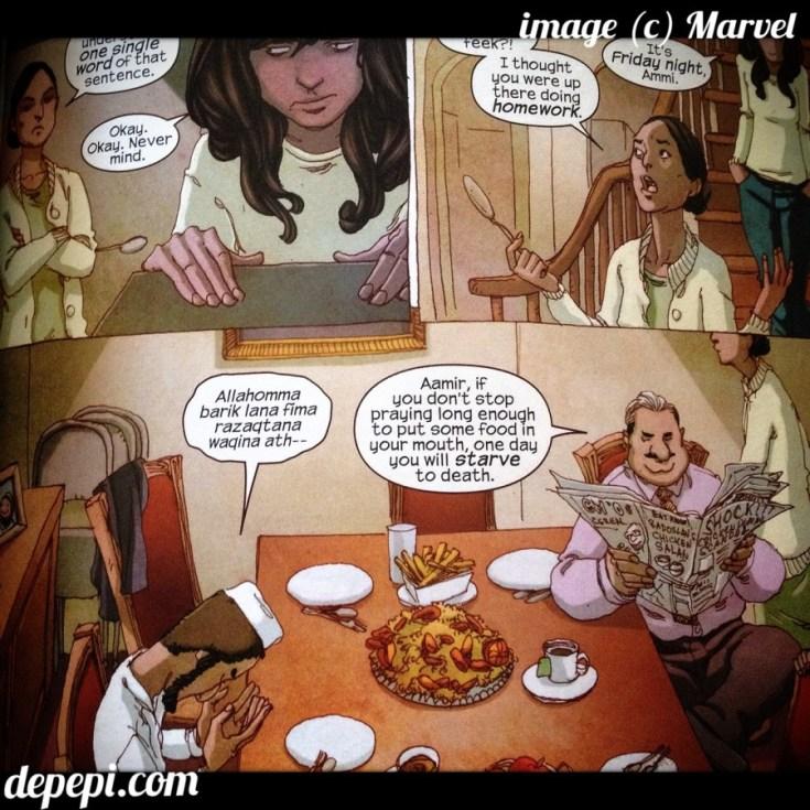 ms. marvel, marvel, marvel comics, kamala khan, geek anthropology, anthropology, anthropology through comics, depepi, depepi.com