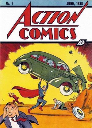 comics thorsday, superman, action comics 1, depepi, depepi.com