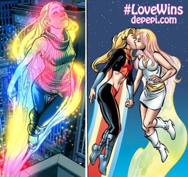 #lovewins, US, LGBTQ, LGBTQ characters in comics, LGBTQ representation, depepi, depepi.com