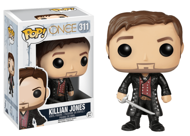 ouat, once upon a time, killion jones, captain hook, funko, funko pop, depepi, depepi.com