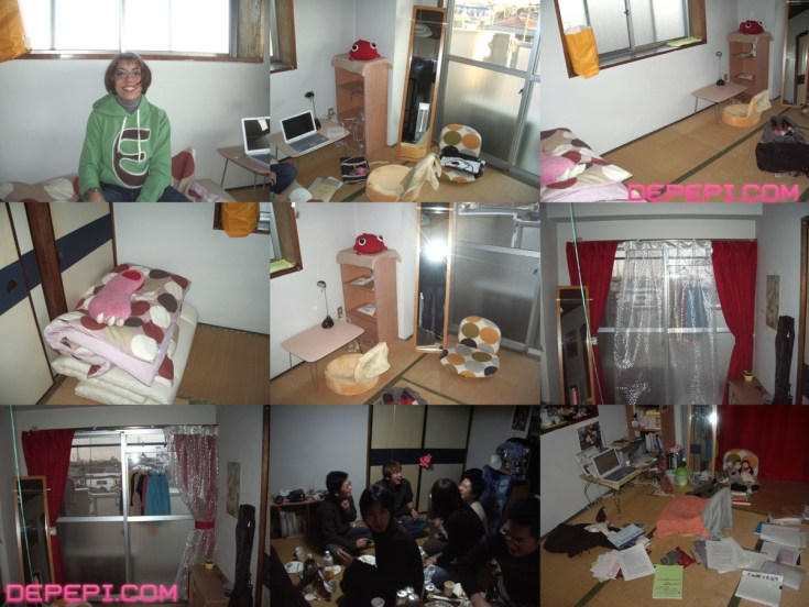 Click on the image to see how Kitakarasuyama room was. Oh look! That's me on the first pic!