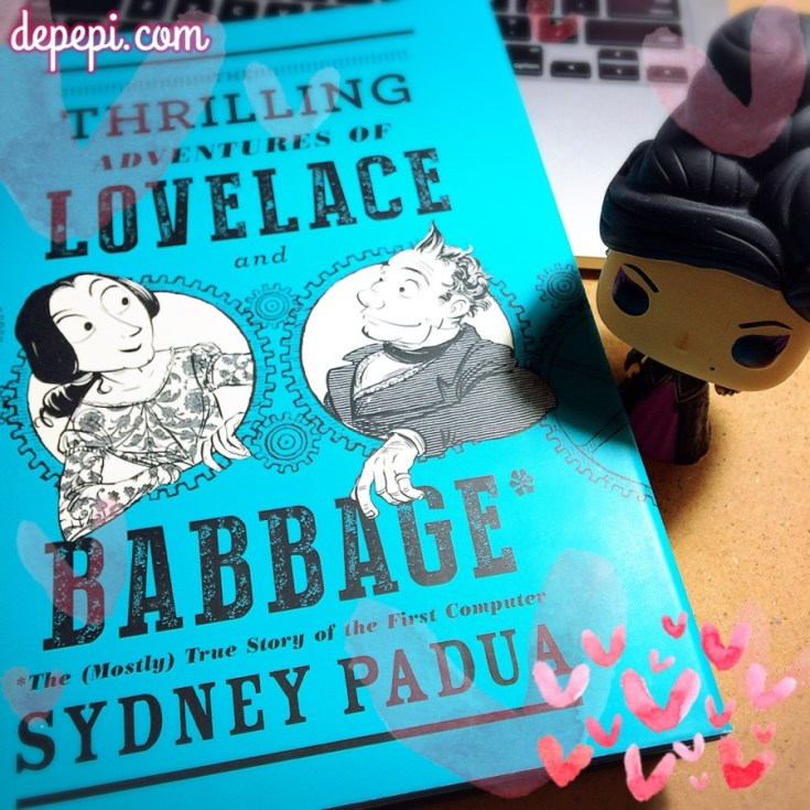 lovelace and babbage, lovelace, comics, depepi, depepi.com