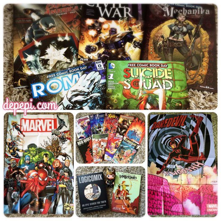 free comic book day, comics, depepi, depepi.com